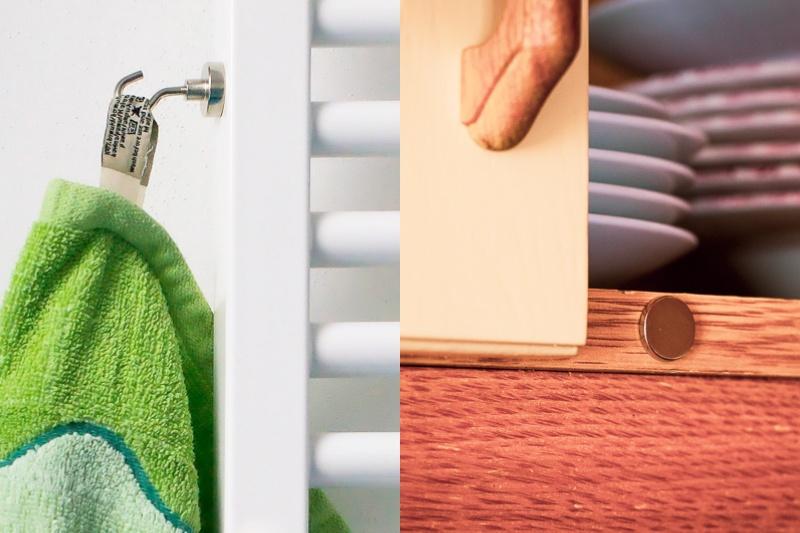 Magnety – šikovní pomocníci doma i v práci