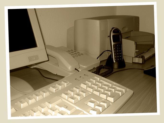 tiskárna v pozadí