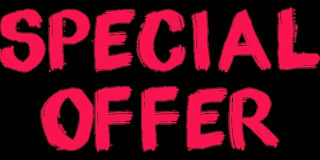 cedule speciální nabídka