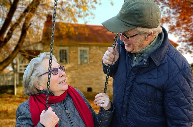 Vyrovnanost staršího páru