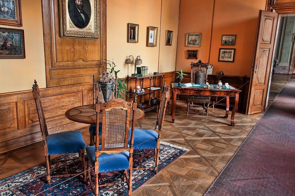 interiér zámku Lednice