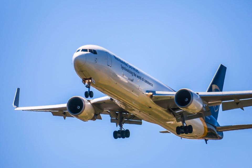 přistávání letadla